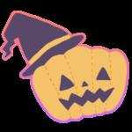ハローウィンのかぼちゃの無料イラスト